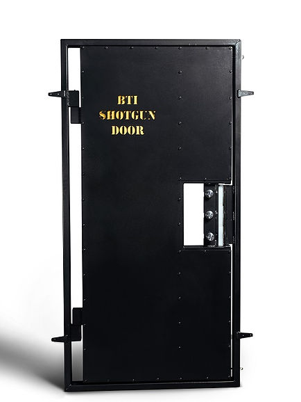 BTI dual swing shotgun door