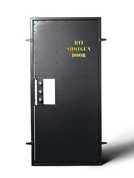 BTI reverse opening shotgun door