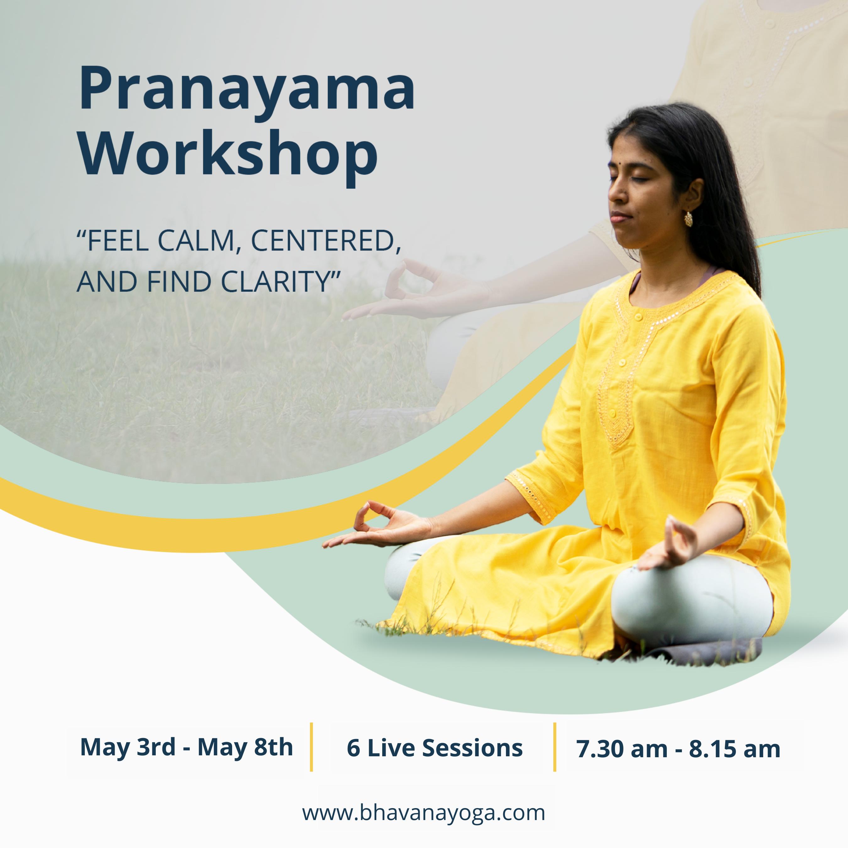 Pranayama & Yoga Nidra Workshop