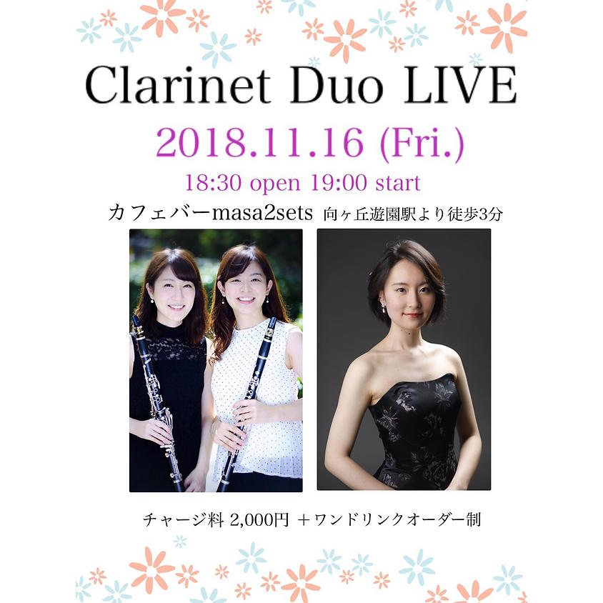 Clarinet Duo Live
