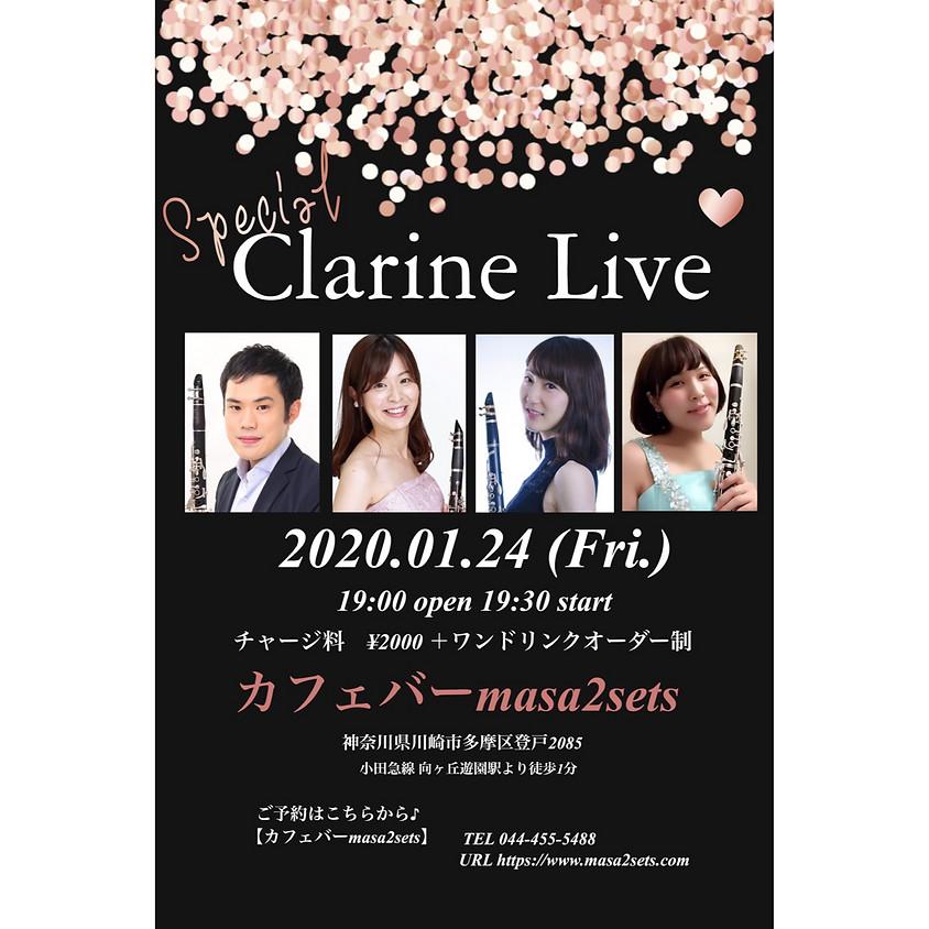 Special Clarine LIVE