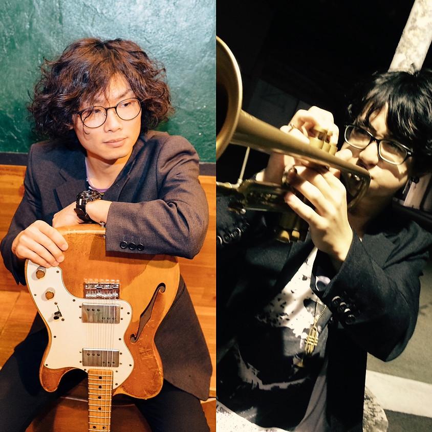 「 jk duo! 篠崎賢(Tp)×絢屋順矢(Gt)」