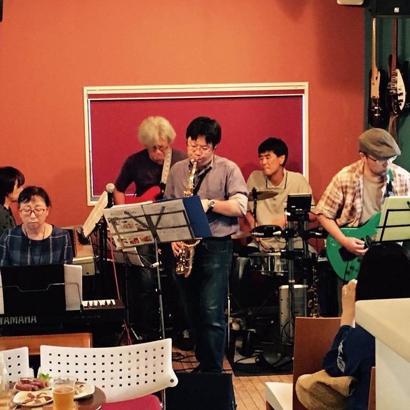 フュージョンバンド ミュール セッションLIVE♪