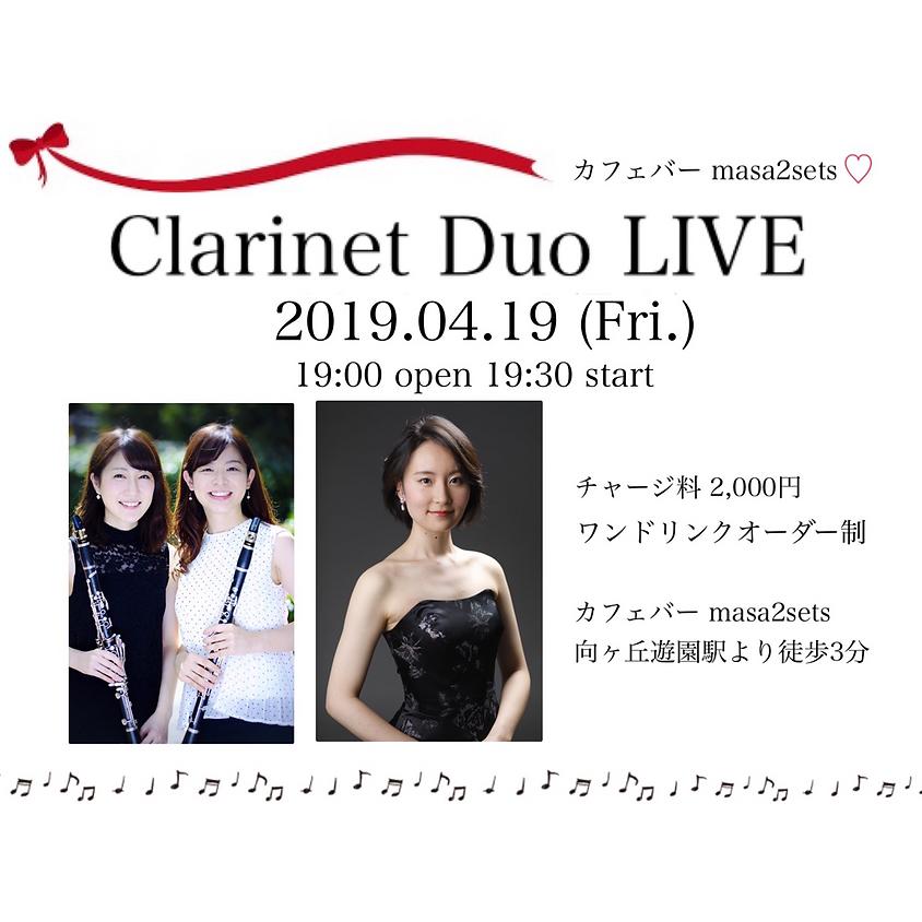 Clarinet Duo LIVE (1)