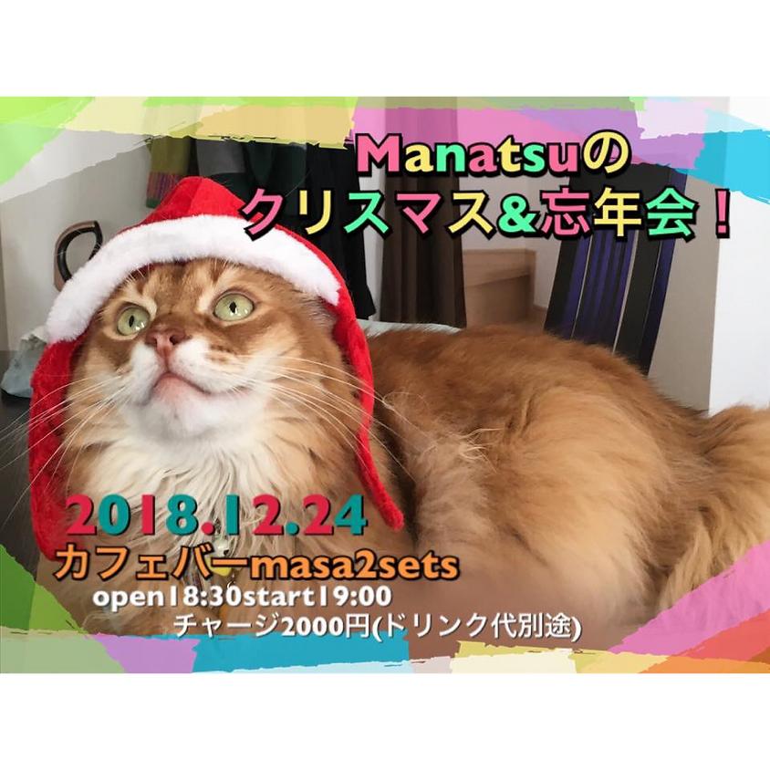 Manatsuのクリスマス&忘年会!