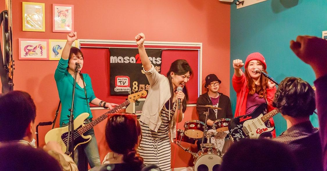 カフェバーmasa2sets ライブ 登戸 向ヶ丘遊園 バー バンド セッション
