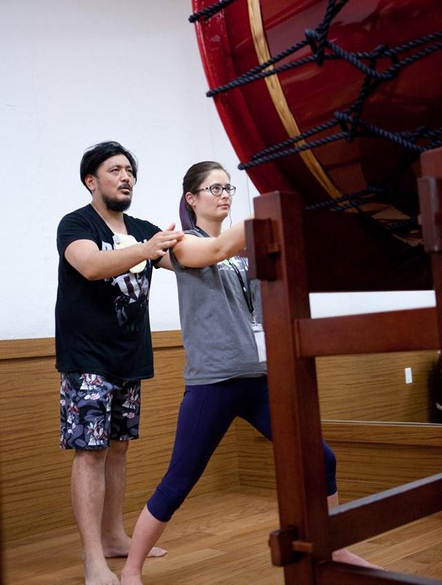 Odaiko with Yosuke