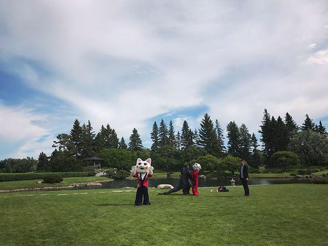 Behind the scenes at Kaiju in the Garden
