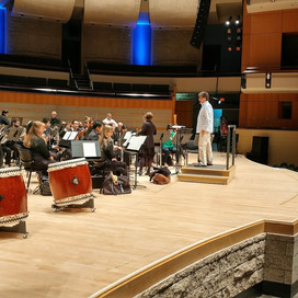 The Winspear Centre! Oboe and Taiko!