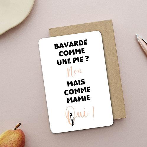 Mamie la Bavarde