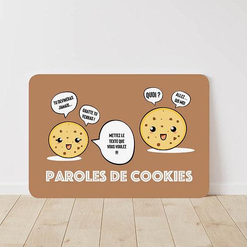 Carte à gratter Cookie