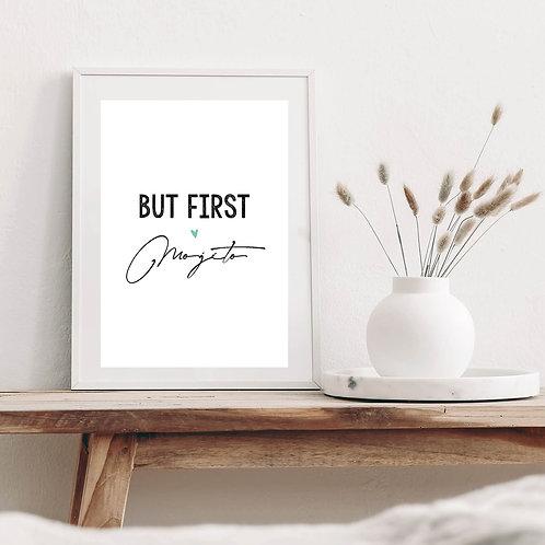 Affiche BUT FIRST