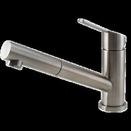 Stainless steel kitchen tap Patro