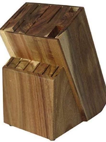 Knife block Raf Acacia Wood