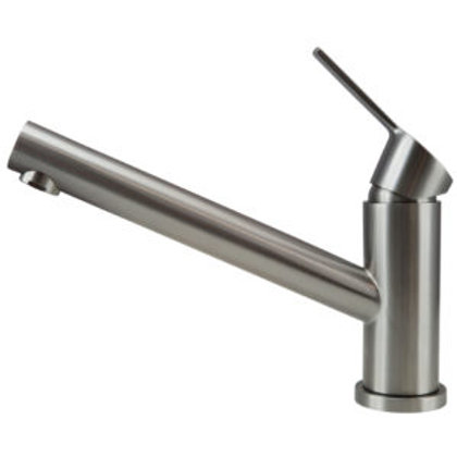 Stainless steel kitchen tap Petito
