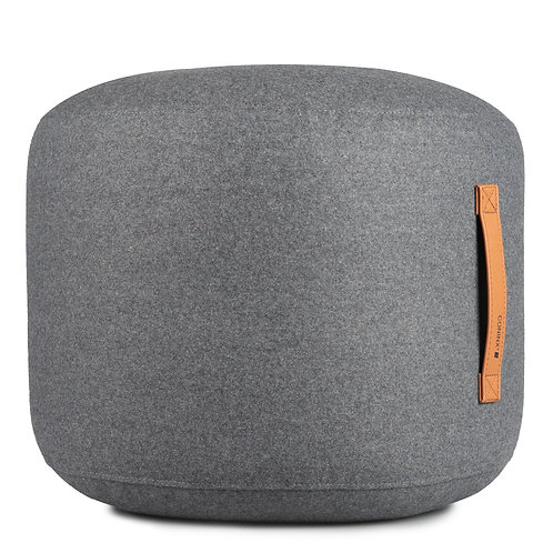 Pouf Wool Coninx Home Antracite