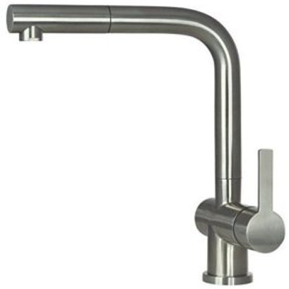 Stainless steel kitchen tap Avori
