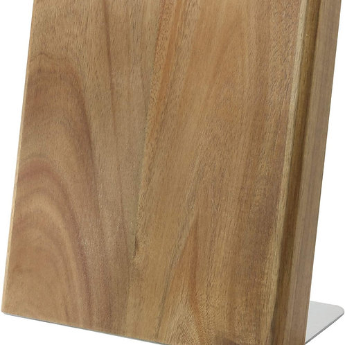 Knife block Quin Acacia Wood XL