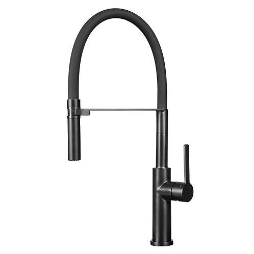 Black Semi-Pro kitchen tap Tolleno