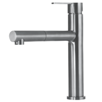 Stainless steel kitchen tap Lori