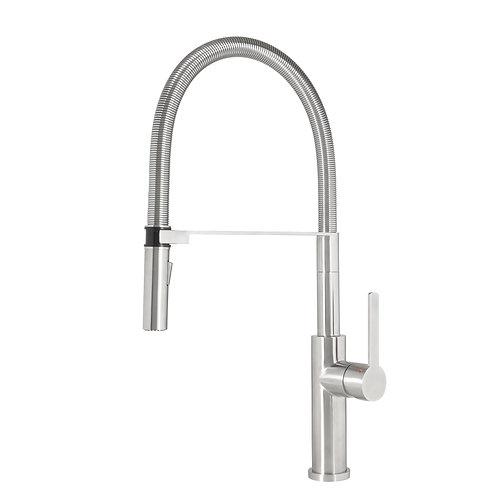Stainless steel Semi - Pro kitchen tap Tolleno