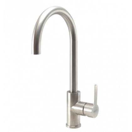 Stainless steel kitchen tap Verdo
