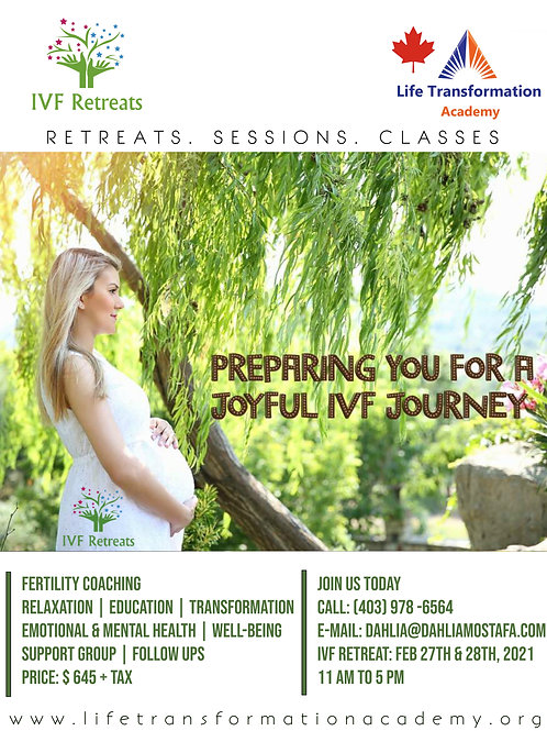 IVF Weekend Retreat