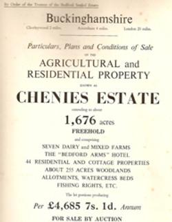 Chenies Estate For Sale