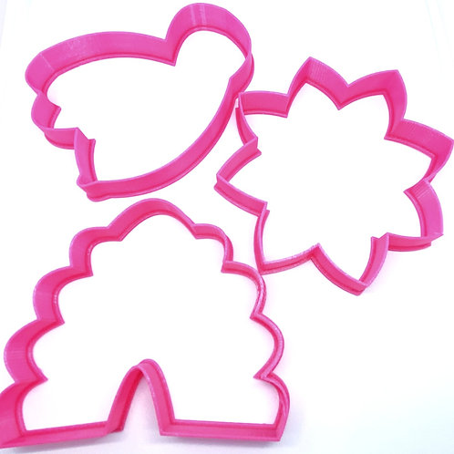 Honey Bee Cookie Cutter Set (3 Cutters) Sale Price $16.75