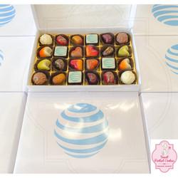 AT&T Logo Decorated Chocolates