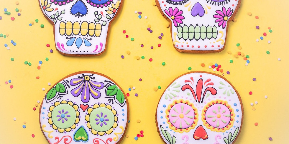 Ladies Day of the Dead Cookie Decorating Class