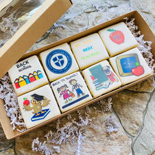 Back To School Decorated Cookies