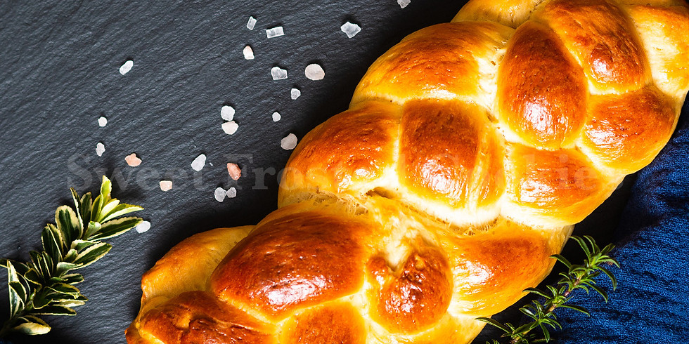 Free Online Live Class How To Bake Simple Egg-free Challah Bread