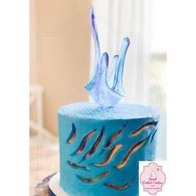 Crystal Inspired Cake