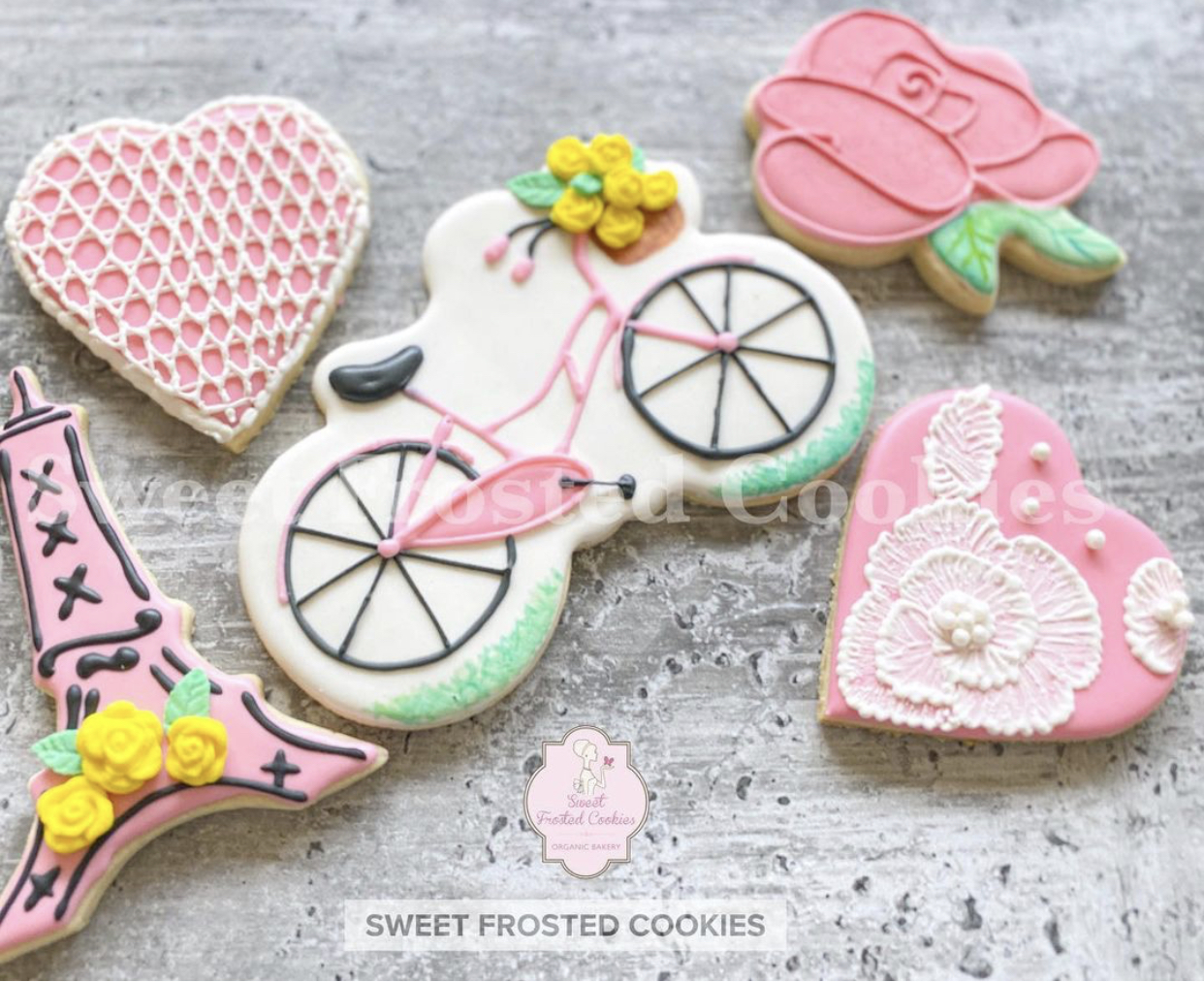 Galentine Decorated Cookies