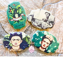 Frida Decorated Cookies for Mr. Ed Bass
