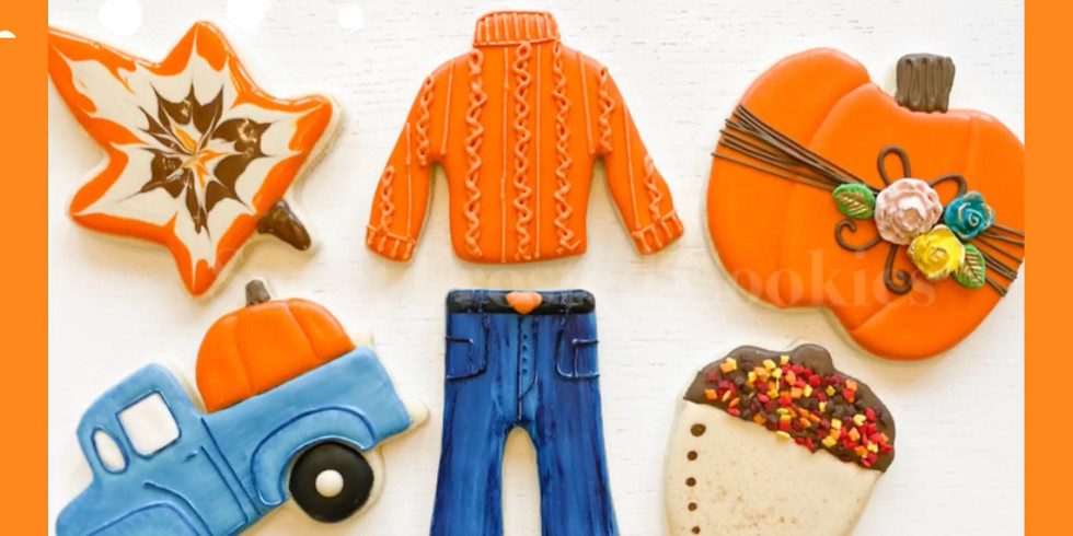Haggar Clothing - Corp. Private Team Building Cookie Fall Decorating Class