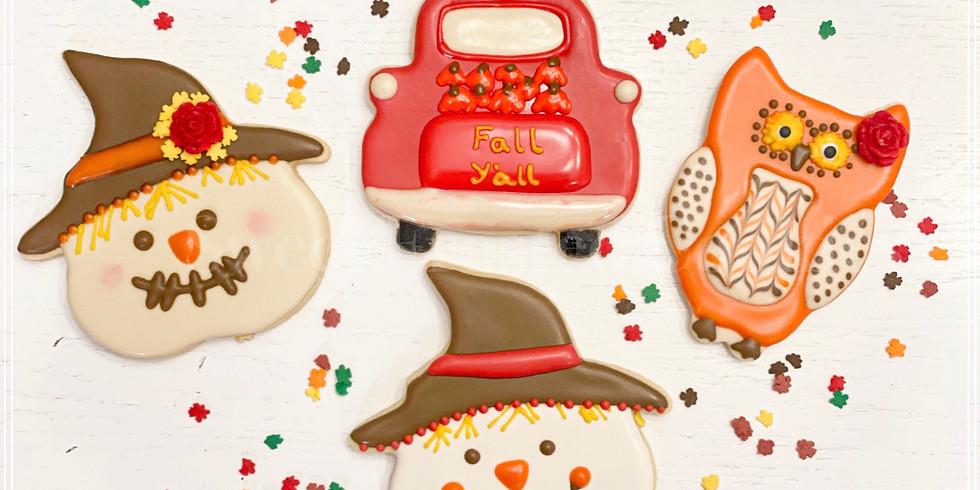 Mom & Me Fall Season Cookie Decorating Class