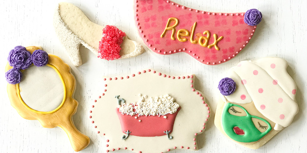 Fun Spa Cookie Decorating Class