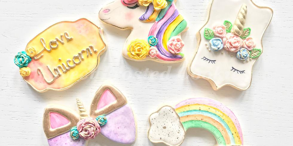 Ladies - Unicorn Designer Collection Cookie Decorating Class
