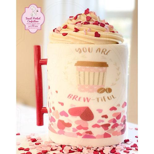Celebration Customizable Mug Cake