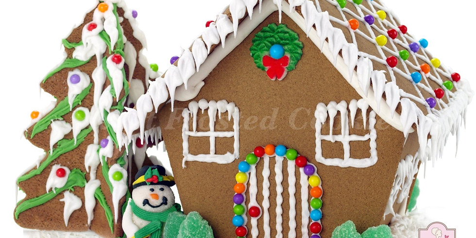 Hot Cocoa & Gingerbread House Kids Cookie Decorating Class