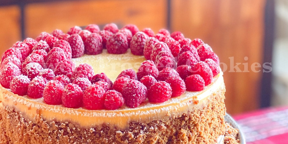 Free Online Live Class How To Bake Raspberry Cheesecake In Simple Steps