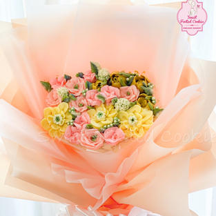 Bouquet of Flowers Cake