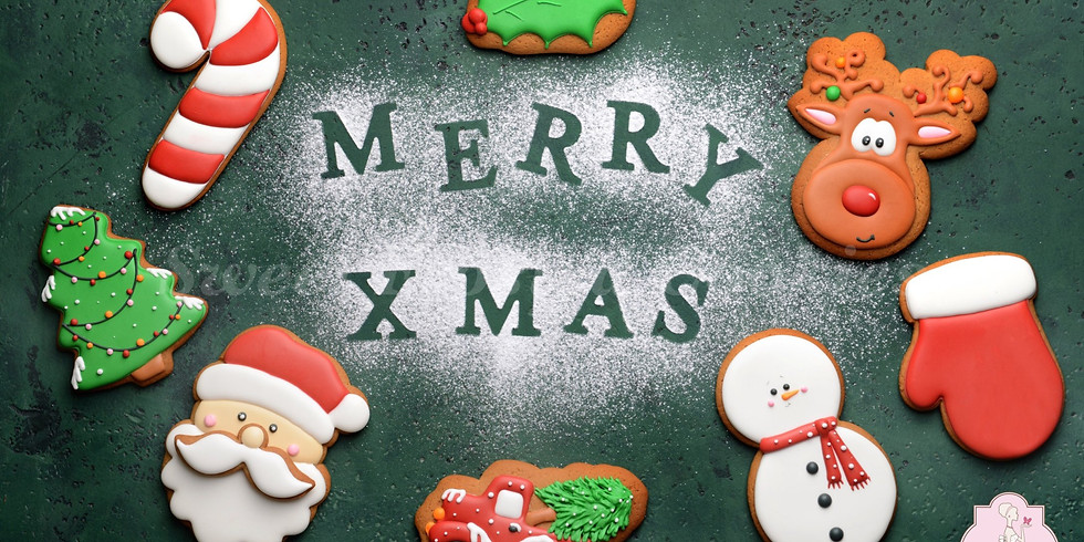 Haggar Clothing - Corp. Private Team Building Christmas Cookie Decorating Class