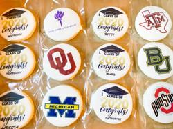 University Logo Decorated Cookies