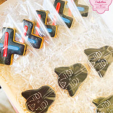 Darth Vader & Lightsaber cookie decorated cookies.jpeg