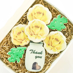 Thank You Decorated Cookies