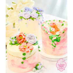 Full Floral Inspired Cakes