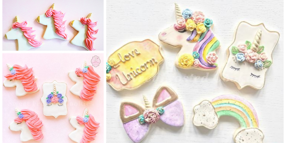 The Magical Unicorn Cookie Decorating Class